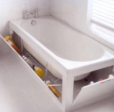 Rangement dans baignoire le blog de fanny freya for Rangement baignoire