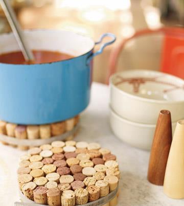 Dessous de plat en bouchons de li ge le blog de fanny freya - Dessous de plat en bouchon ...