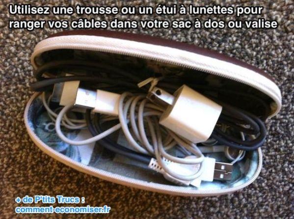 astuce-pour-ne-plus-emmeler-cables-sac
