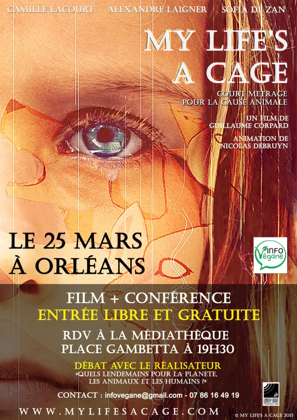 FLYERS MY LIFE'S A CAGE - ORLEANS